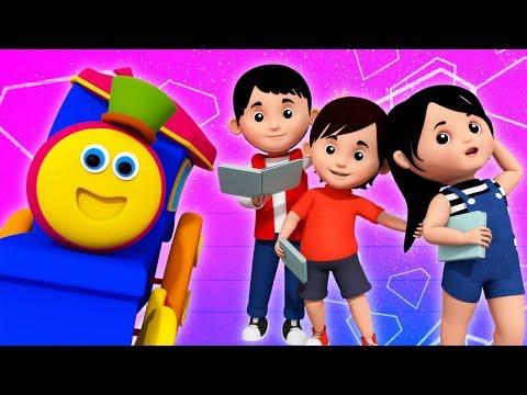 Learn English | Learning Street With Bob The Train | Kindergarten Nursery Rhymes  by Kids Tv