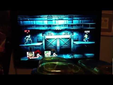 How To Do Snake's Secret Taunt In Super Smash Bros Brawl