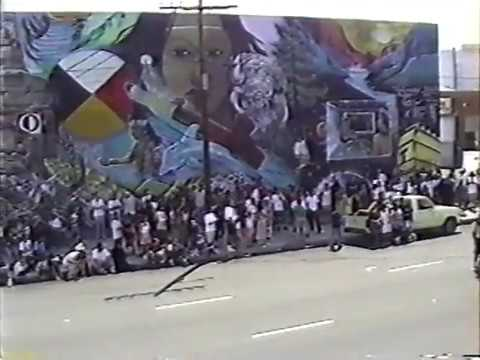 Earth Crew - Undiscovered America Mural in Los Angeles 1992
