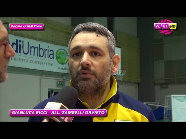 Interviste Orvieto vs SGM Rimini
