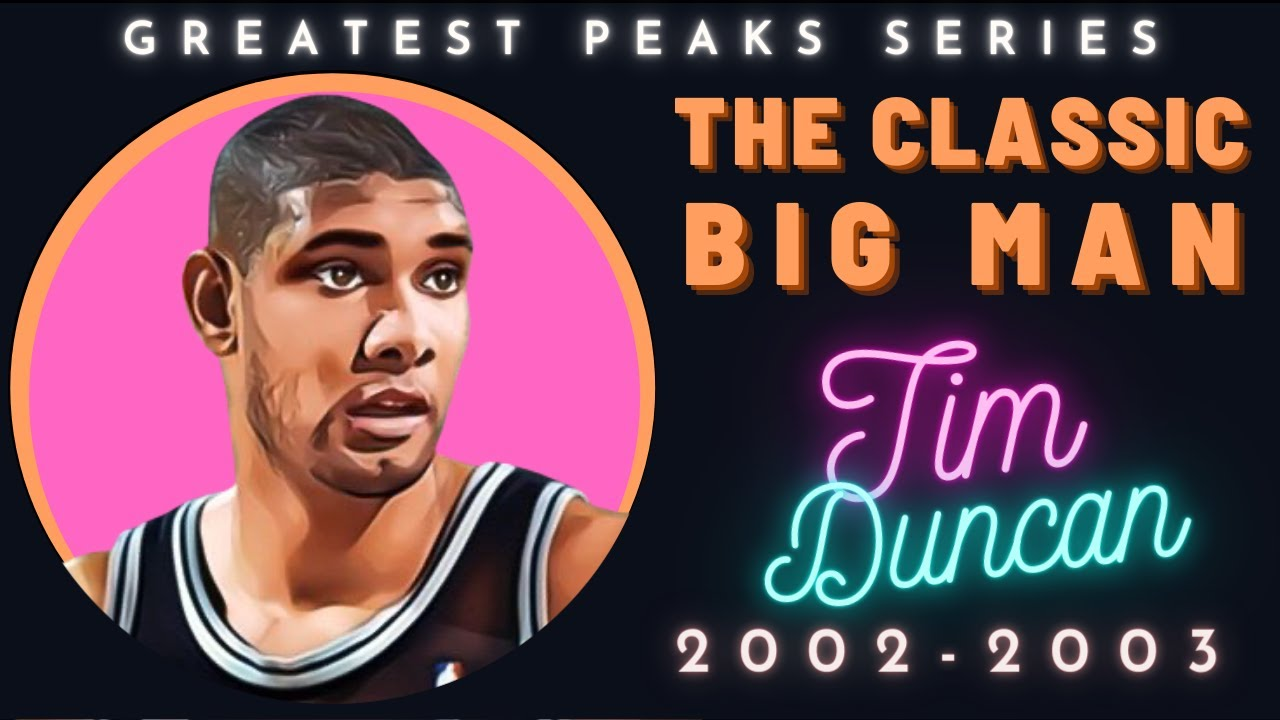 Why Tim Duncan was one of the best ever | Greatest Peaks Ep. 12