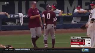 Baseball: Highlights | A&M 7, Georgia 0