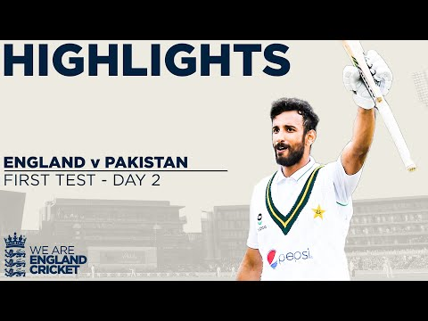 Day 2 Highlights | Masood Ton & Bowlers Put Pakistan In Charge  | England V Pakistan 1st Test 2020