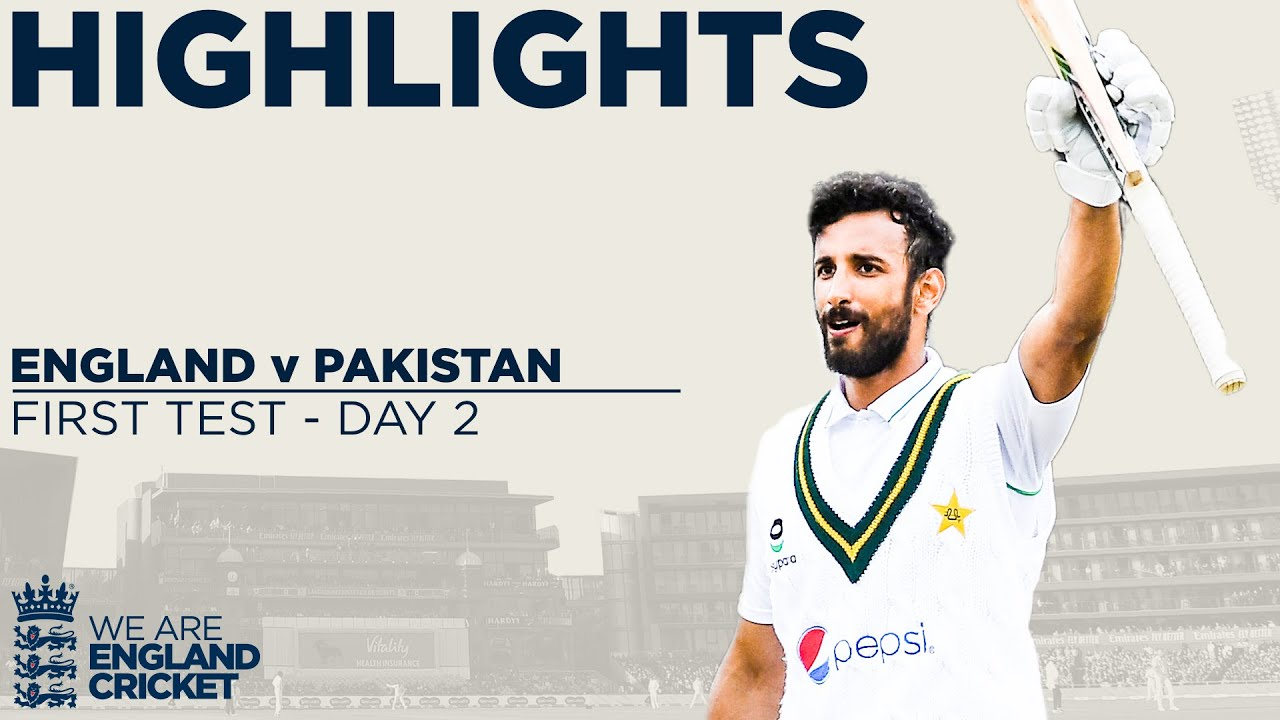 Day 2 Highlights   Masood Ton & Bowlers Put Pakistan In Charge    England v Pakistan 1st Test 2020