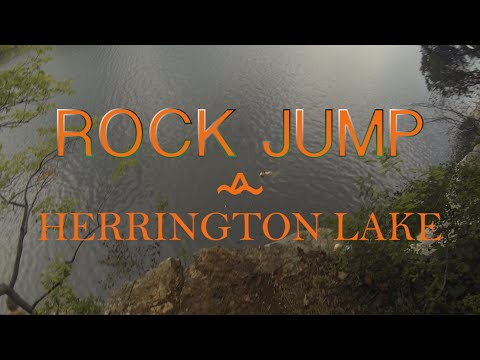 Rock Jump // Herrington Lake
