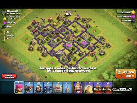 Bombenturm Zu Schwach ?! WTF BUG , PEKKA EINFACH TOT!😱😃 | Let's Play Clash Of Clans
