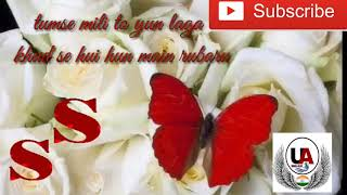 Tumse mili to Yun laga romantic song for what's app with lyrics