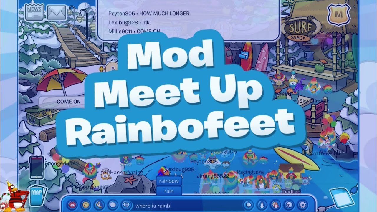 how to add friends on club penguin without meeting them