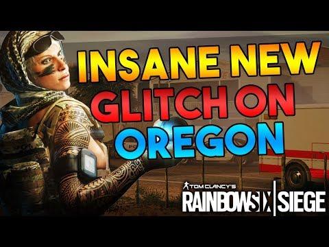 UNBELIEVABLE NEW GLITCH ON OREGON - BEST SPOT - EZ WIN - OP - (Rainbow Six Siege)