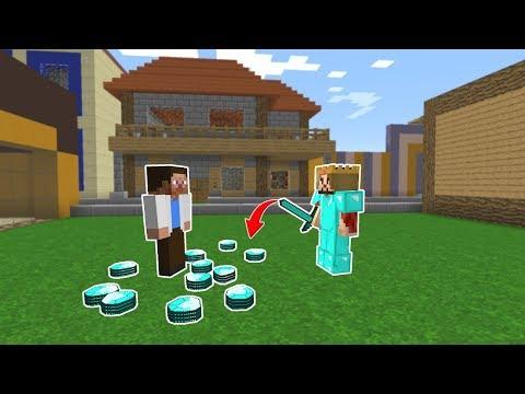 ZENGİN 1.000.000 ELMAS BULDU! 😱 - Minecraft