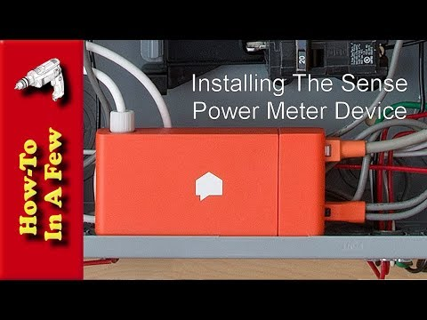 How To: Install The Sense Power Meter Energy Monitor
