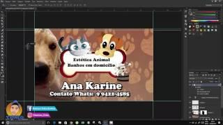 Como Preparar arquivo para grafica  cmyk fechamento Tutorial Photoshop