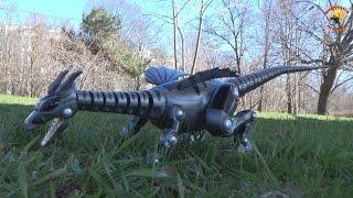 Робот дракон на радиоуправлении (динозавр) обзор игрушки toys Fire Dragon