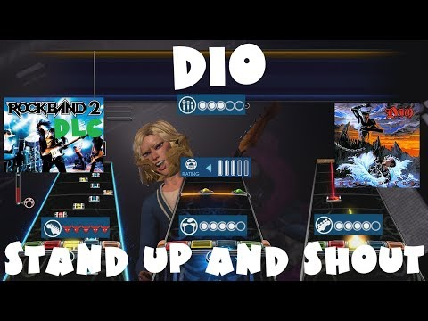 Dio - Stand Up and Shout - Rock Band 2 DLC Expert Full Band (September 14th, 2010)
