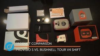 ProVisio S vs. Bushnell Tour V4 Shift - Laser Rangefinders on Test