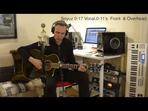 Soyuz 0-17, 0-11 Microphones Demo