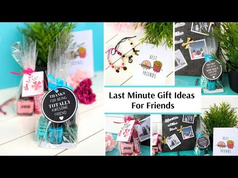 Last Minute Gift Ideas   Simple DIY Gift Ideas for Friends   Vinnis Craft Ideas