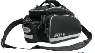 Обзор сумки на багажник велосипеда Terra Incognita Roverbox 20