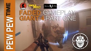 Robo-Airsoft: Pew Pew Time - Faded Giant 4: Gameplay Part 1 - Airsoft Gameplay