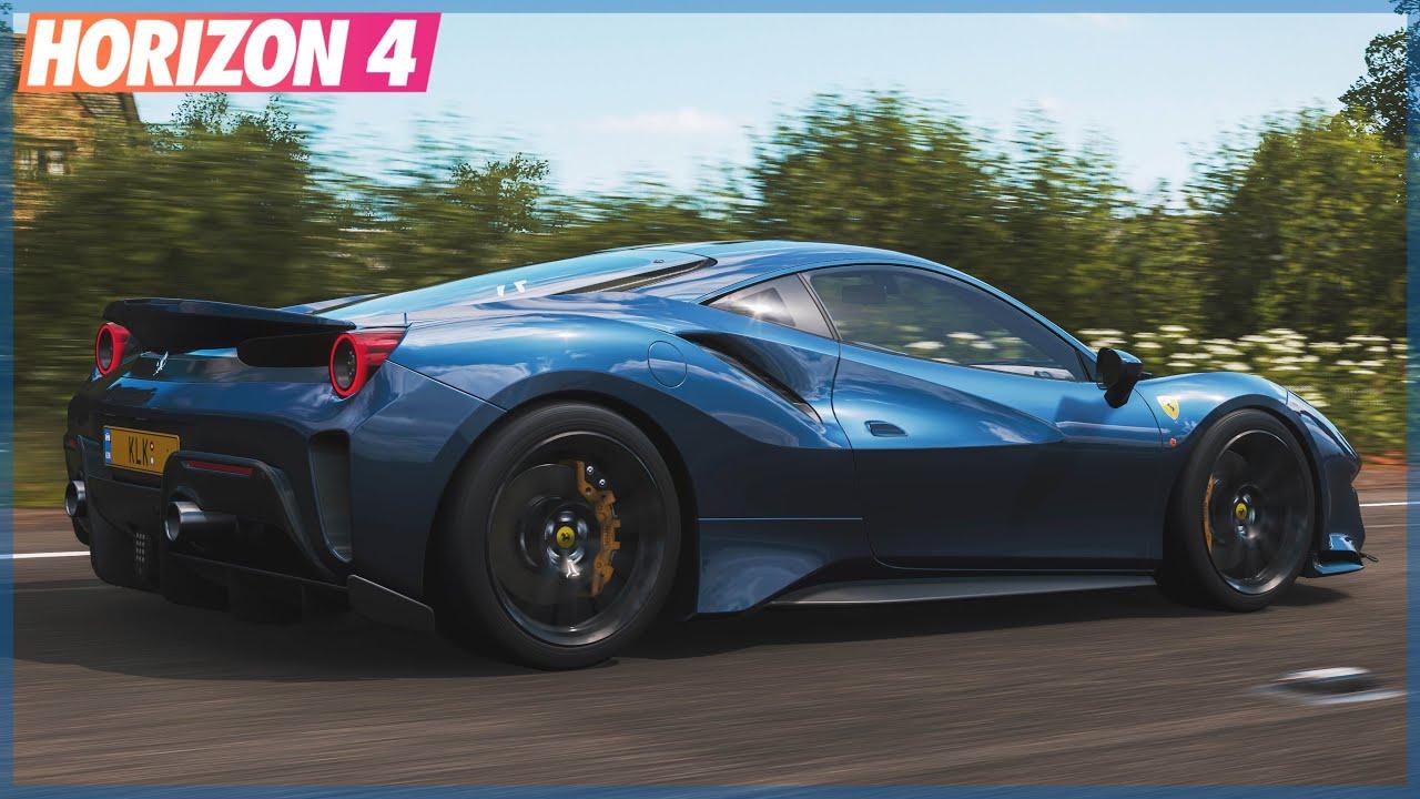 Forza Horizon 4 | How to Unlock the Ferrari 488 Pista, 600LT & More! Update 16 Festival Playlist