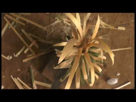 How to make bamboos flowers  2019