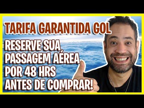 VALE A PENA? TARIFA GARANTIDA GOL - COMO RESERVAR PASSAGENS AÉREAS POR 48H ANTES DE COMPRAR