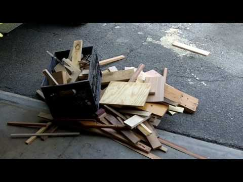 Wood storage is a disaster.  My Wood Whisperer storage bin needs a total cleaning