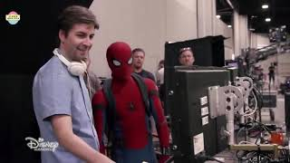 Spider Man  Homecoming   Behind The Scenes   Bloopers