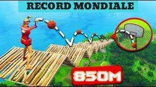 WORLD RECORD ON FORTNITE! BASKETBALL SHOT 860 METERS LONG! |Rimoldigno
