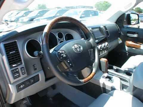 Tundra Double Cab >> 2011 Toyota Tundra Platinum Crewmax Start Up, Exterior ...