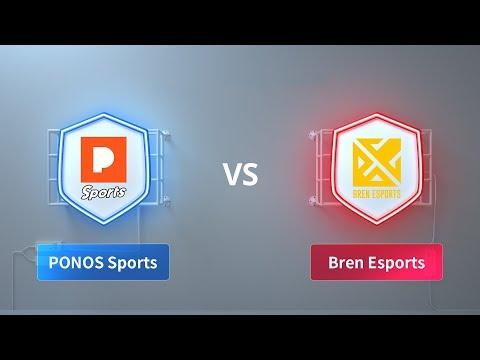 PONOS Sports vs Bren Esports - 2018 CRL Asia Week 4 Day 2