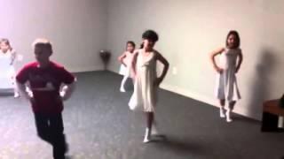 Открытый урок танца в школе Перспектива
