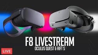 Facebook F8 Conference Livestream! - Oculus Quest & Oculus Rift S Launch