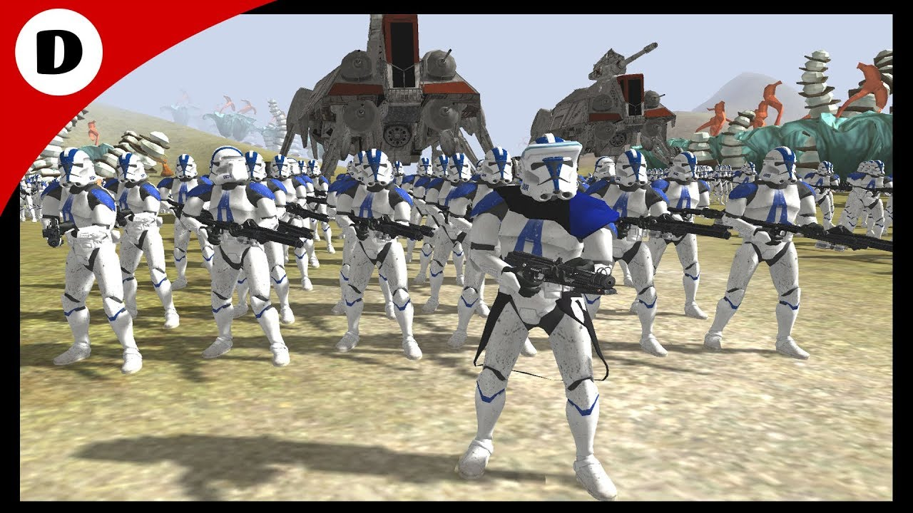 CLONE TROOPERS Vs THE FIRST ORDER ~ Men Of War: Assault ...