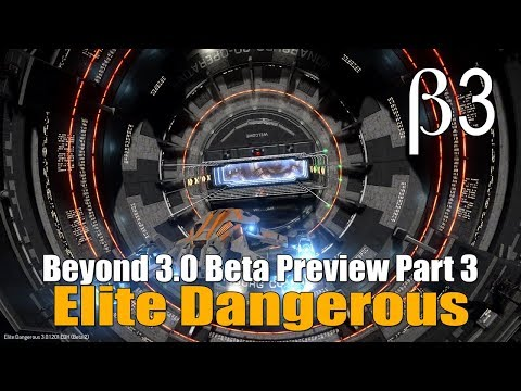 Elite Dangerous - Beyond 3.0 Beta Part 3 - New Planet Textures & Thargoid Scout Ships