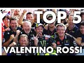 Valentino Rossi's Top 5 Moments from 2019!
