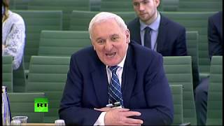 LIVE: Former Irish Taoiseach Bertie Ahern appears at the Exiting the EU Committee