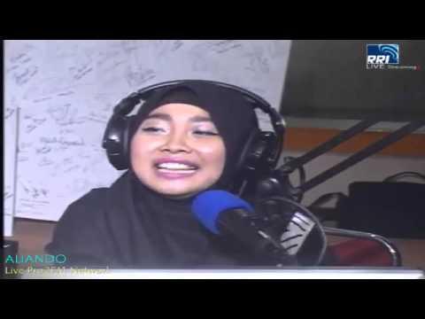 Aliando at Radio RRI jakarta