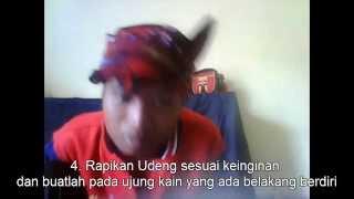 Cara Memakai Udeng Jawa Timuran Tutorial by arek jaseters