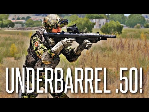 UNDERBARREL .50 CAL! - ArmA 3 King Of The Hill (Funny Moment