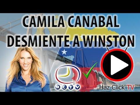 CAMILA CANABAL LE RESPONDE A WINSTON VALLENILLA  (RCTV)