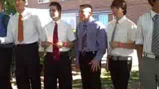 EFY boys singing to the girls