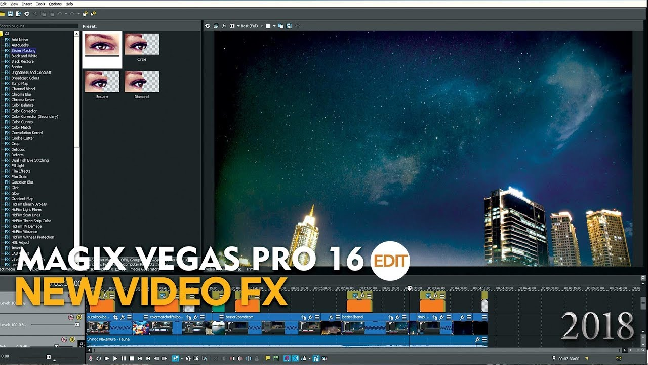 Magix Vegas Pro 16 What New Video FX 360 video ready and more