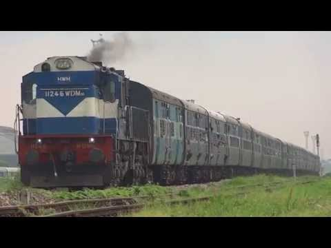 IRFCA Heavy Smoke Creation WDM3D accelerating with Dibrugarh bound Kamrup Express