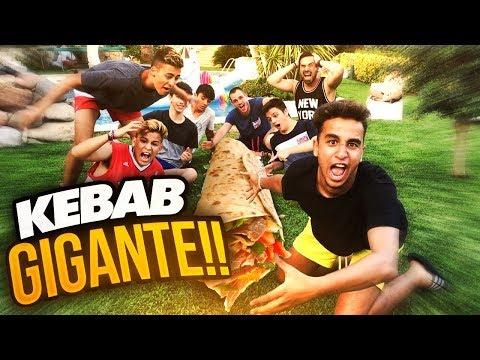 KEBAB GIGANTE!!