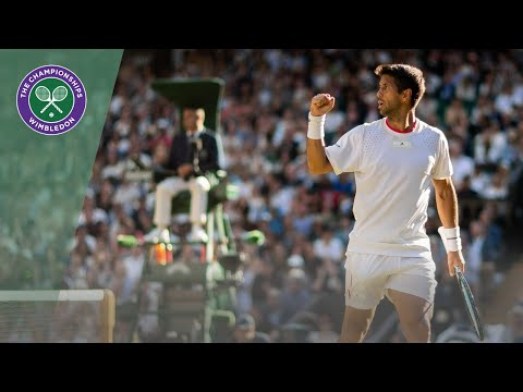Fernando Verdasco vs Kyle Edmund Wimbledon 2019 second round highlights