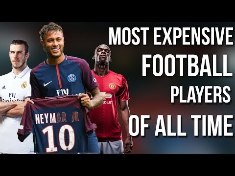 Most Expensive Football Players Of All Time Ft Neymar to psg , Ronaldo , Bale,etc Transfer News 2017