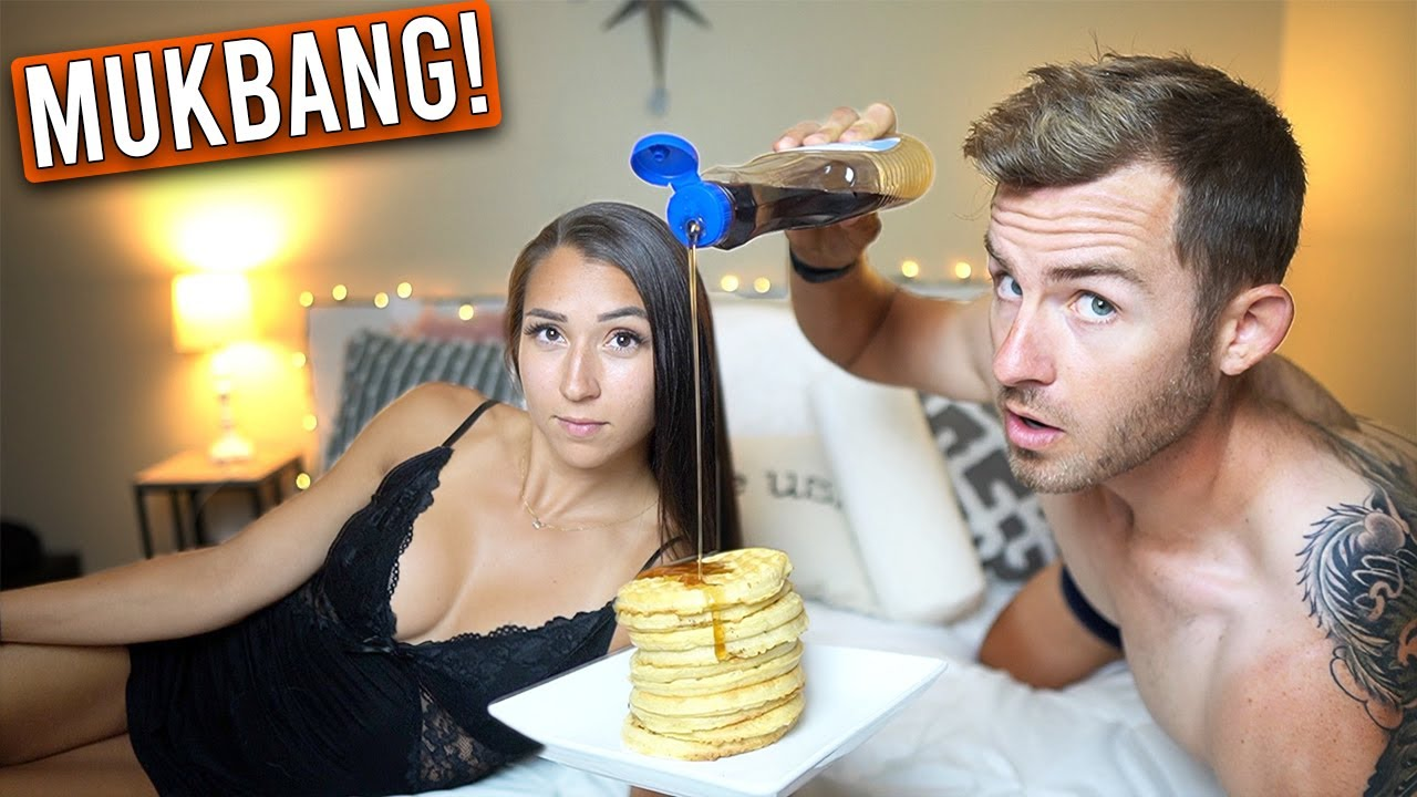 THE BREAKFAST IN BED MUKBANG!