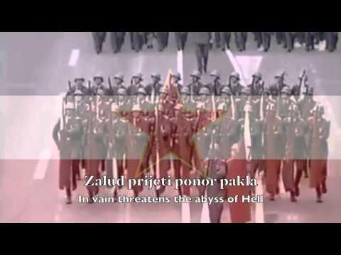Historical Anthem: SFR Yugoslavia – Hej Slaveni