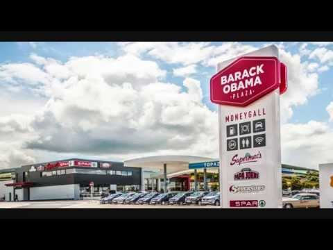 Barack Obama Plaza Moneygall Ireland